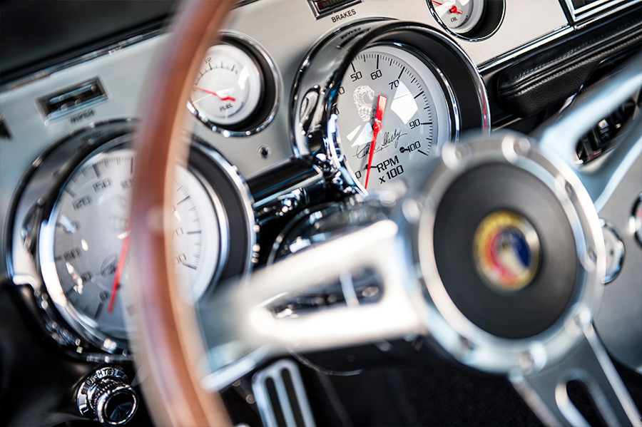 1967 1968 Shelby Mustang GT500 gauges