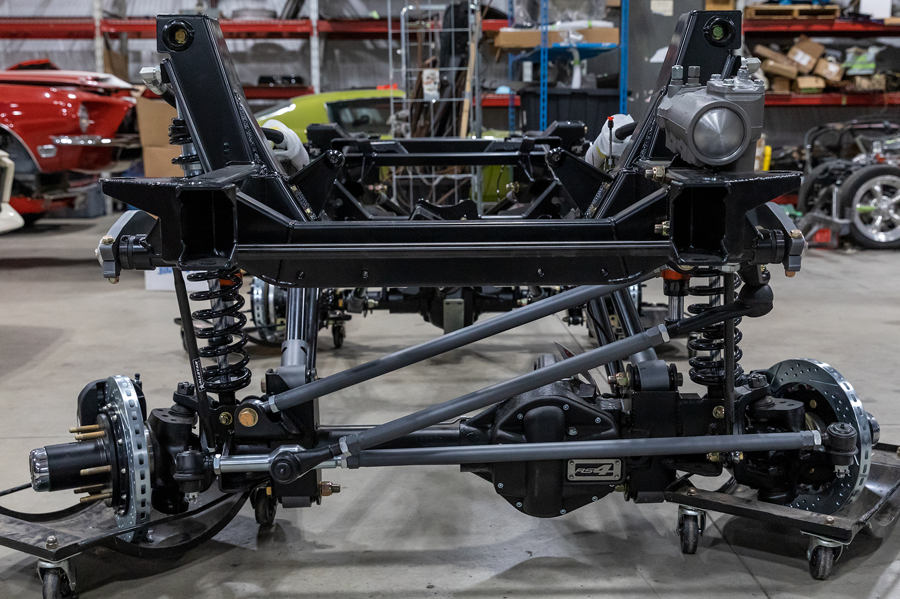 CR Bronco chassis built by Classic Recreations