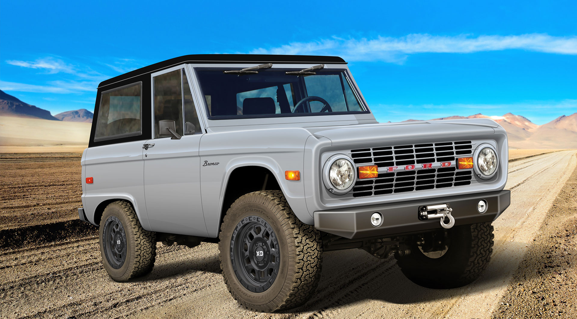 CR Bronco built by Classic Recreations