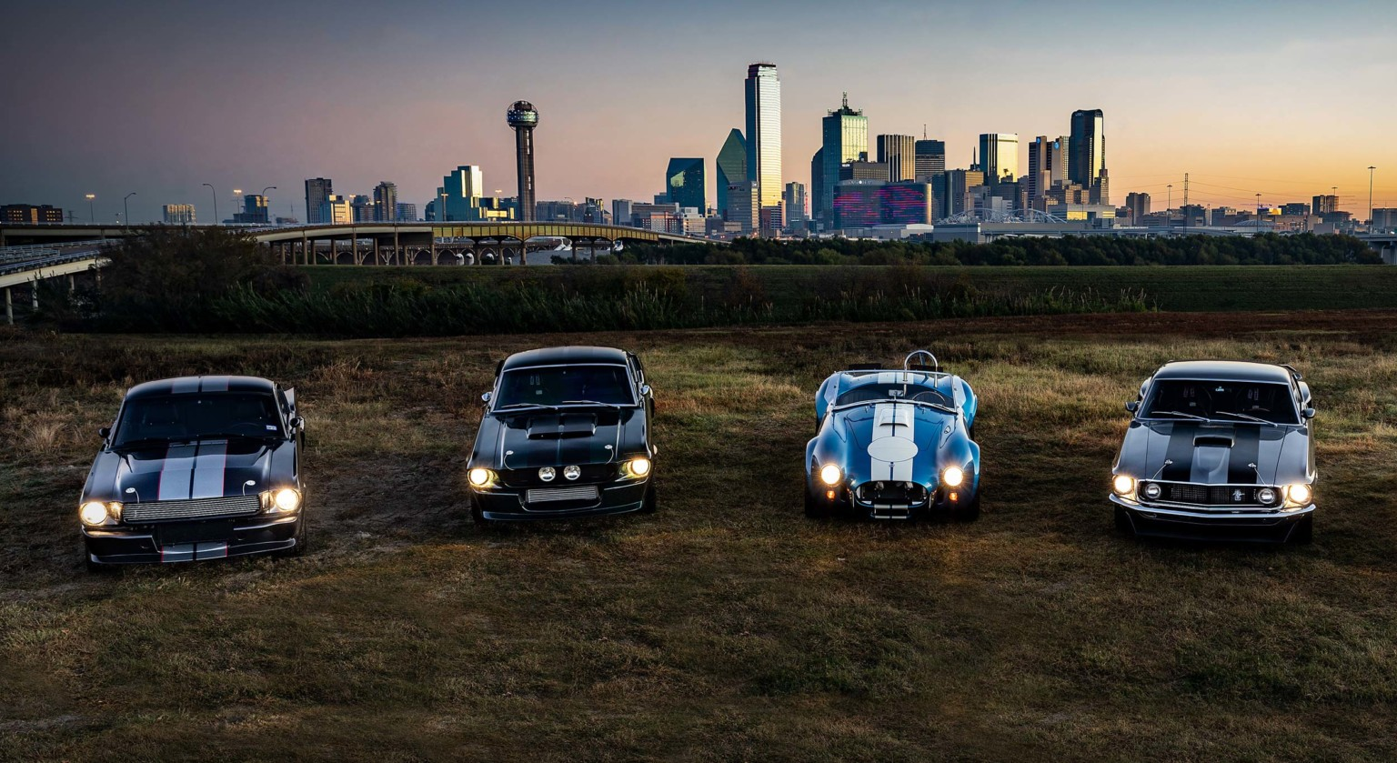 Classic Recreations Shelby GT350CR, Shelby GT500CR, Shelby CSX Cobra, Mach 1